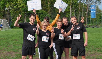 WKW-Running-Team vor dem Start